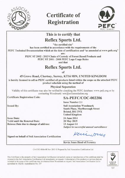 PEFC™ Chain of Custody Certification