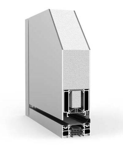 Pivot Single with Side Panel RK1400 - Doorset system