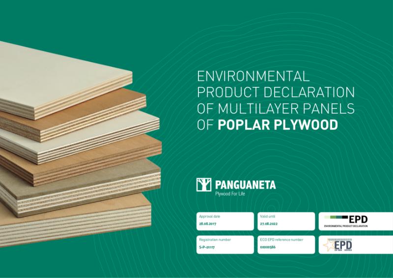 Multilayer panels of Poplar Plywood, Panguaneta.