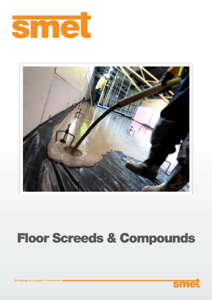 SMET Floor Screed and Compounds Product Selector