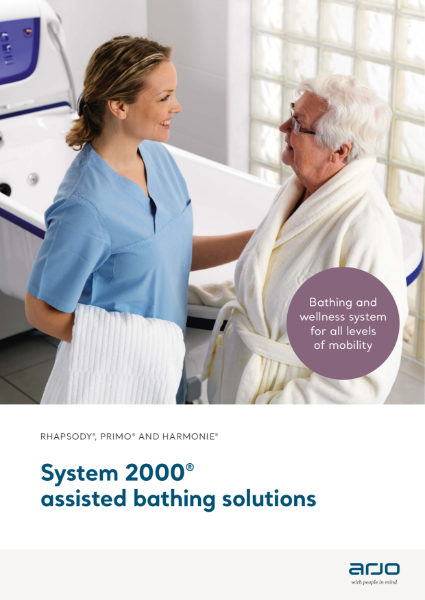 Bathing Solutions for the Central Bathing Area - System 2000