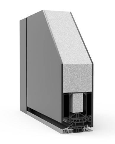 Exclusive Single with Top Panel RK1200 - Doorset system