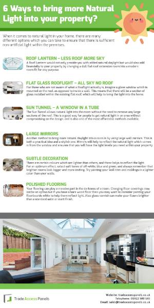How to bring more Natural Light into your property?
