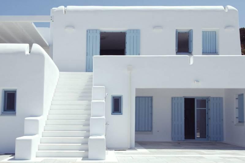 Accoya windows and doors in Paros Greece