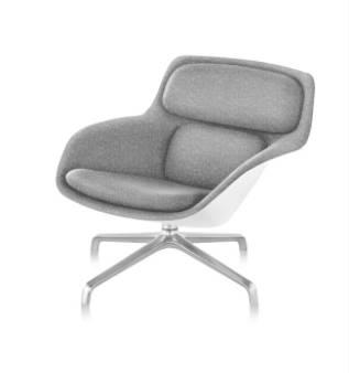 Striad Lounge Chair - Low-Back - 4-Star Base