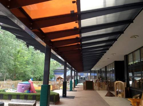 Prior Weston Primary School - Bespoke Solar Canopy