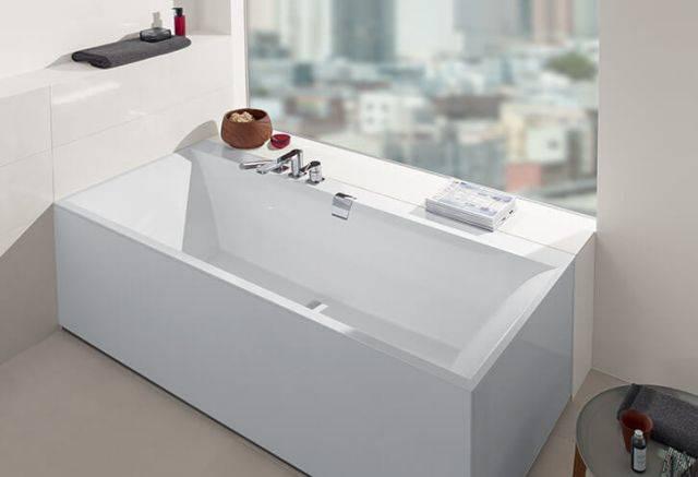 SQUARO EDGE 12 Duo Rectangular 1600 x 750 Quaryl®