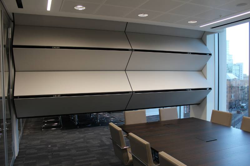 MOVEABLE WALL COMBINATION DELIVERS FLEXIBILITY AND PANACHE
