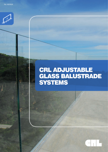 CRL Adjustable Glass Balustrade Systems