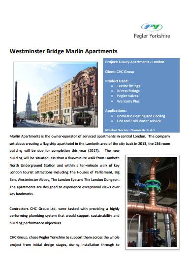 Westminster Bridge Marlin Apartments