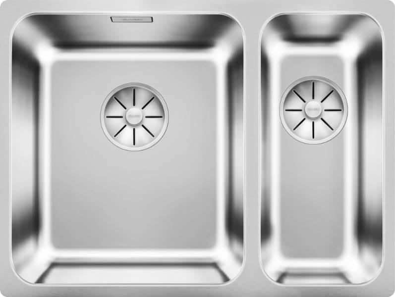 Solis Stainless Steel Undermount Bowl & Half