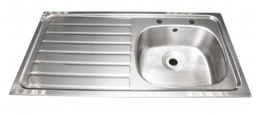Inset sink - 505 x 1015 mm