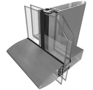 System 17 Latitude Curtain Walling