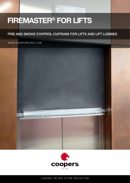 Lifts and Lift Lobbies Fire Curtain with Smoke Control Brochure