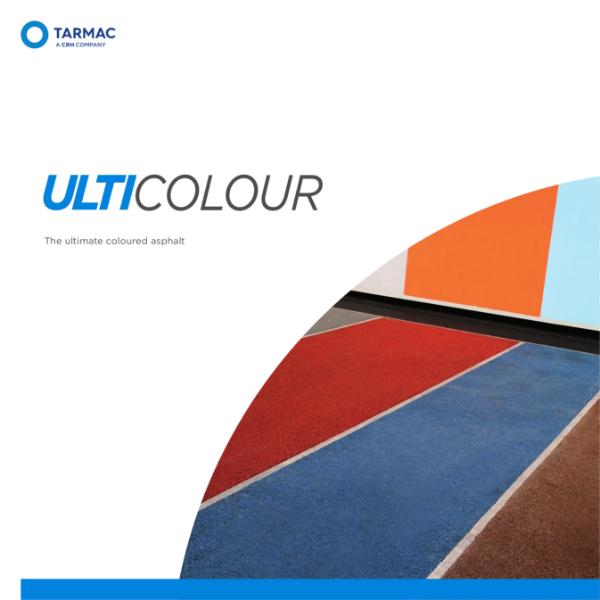 Coloured asphalt - Ulticolour