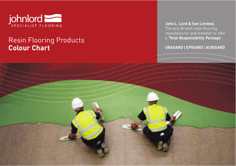 Resin Flooring Products - Colour Chart