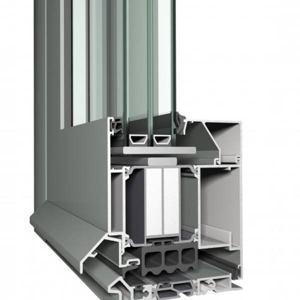 Aluminium Door CS 104 Concept System