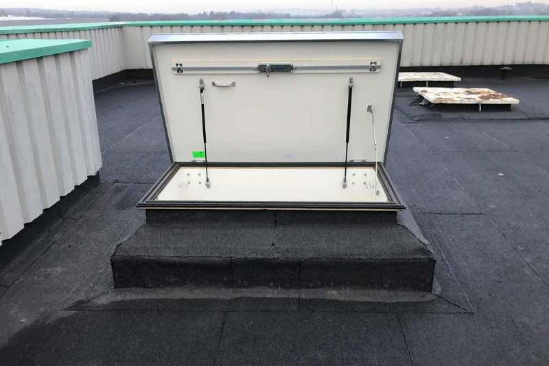 Retractable Roof Access Ladder and Hatch - Case Study