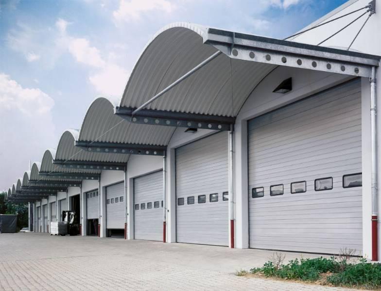 Sectional Door SPU F42-Compound Glazing Track TypeVU