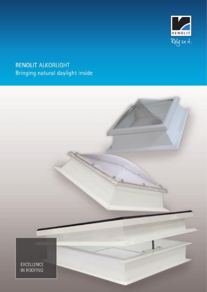 RENOLIT ALKORLIGHT rooflights