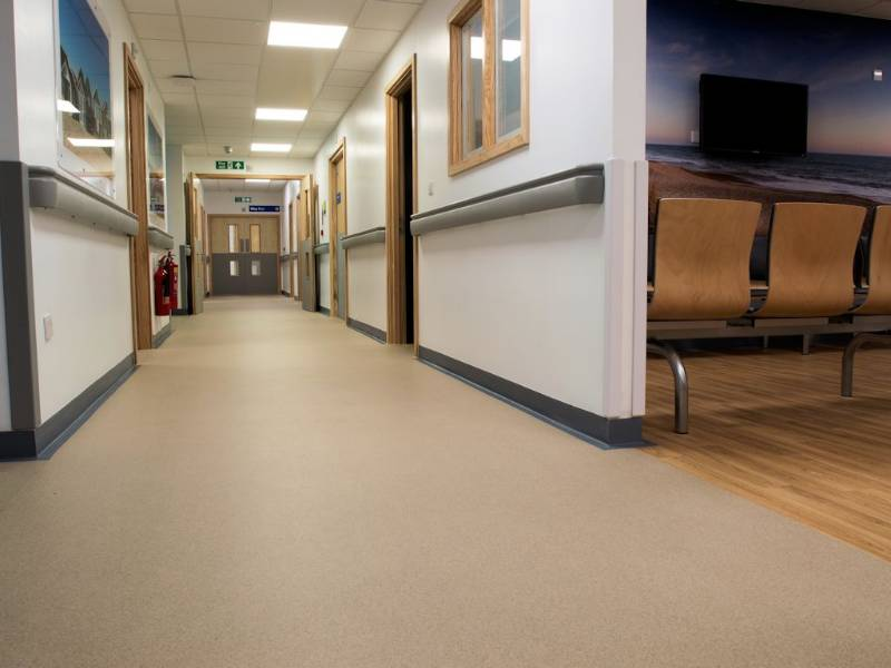 Polyflor gets a piece of the action at Royal Bournemouth Hospital's Jigsaw Building