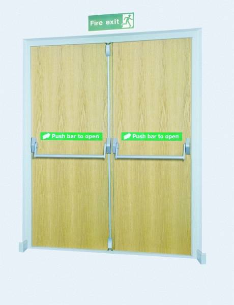 Double Rebated Door Set 883T