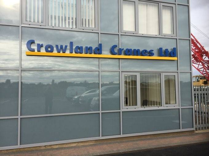Kestrel Aluminium. Case Study: Crowland Cranes, Peterborough