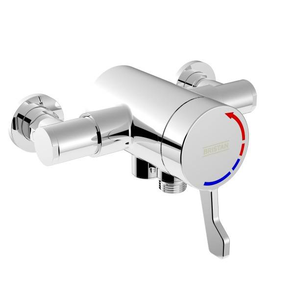 OPAC Exposed Shower Valve With Lever Handle