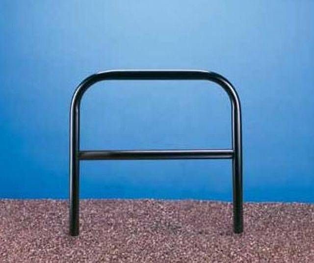 Ollerton Sheffield Cycle Stand with Tapping Bar - Stainless Steel