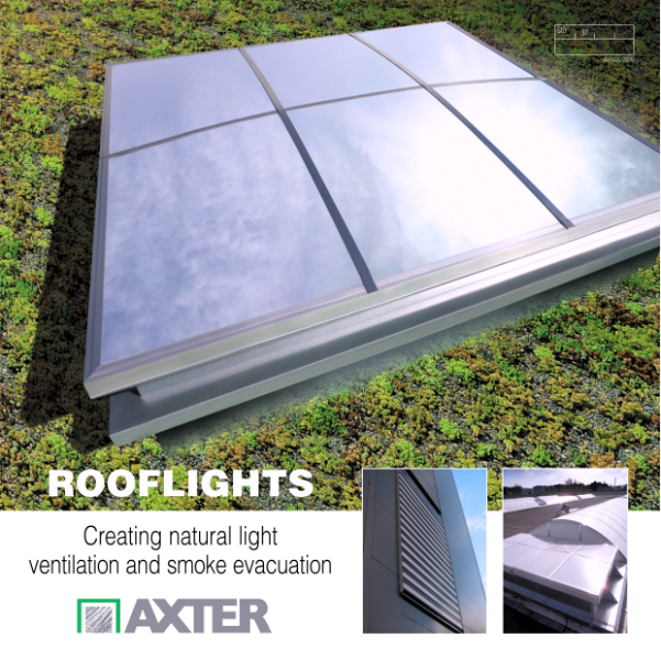 ROOFLIGHTS - Creating natural light ventilation and smoke evacuation