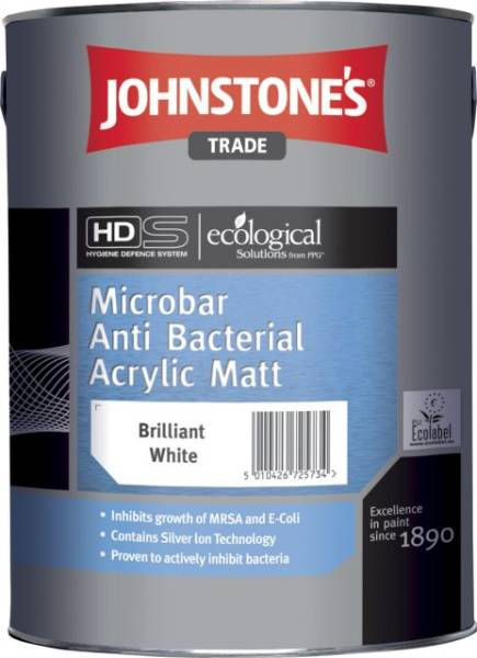 Microbarr Anti-Bacterial Acrylic Matt
