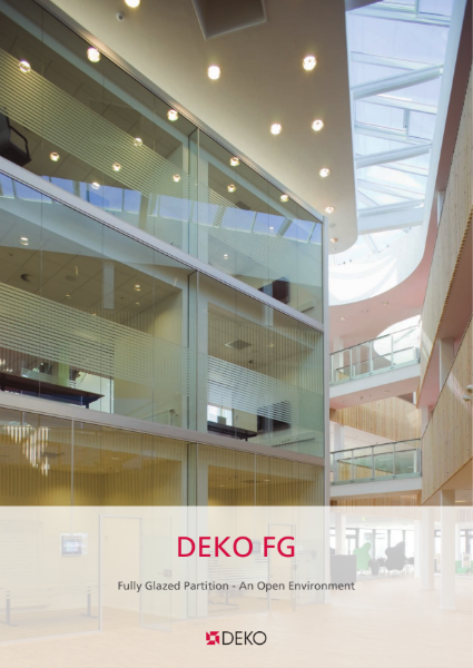 Deko FG - Fully Glazed Partition