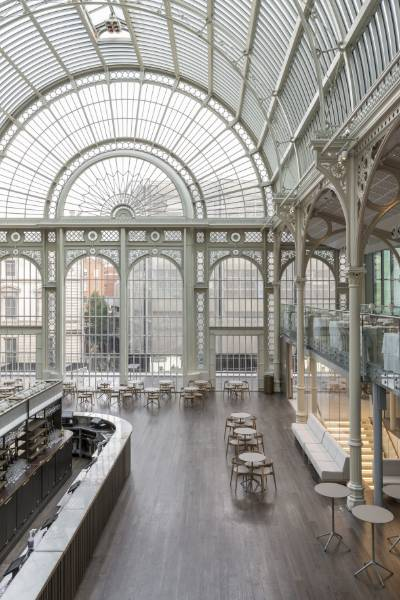 A new floor for The Paul Hamlyn Hall at The Royal Opera House