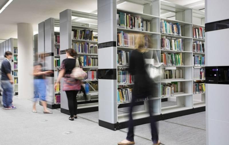 Bruynzeel Library storage: Canterbury Christ Church University