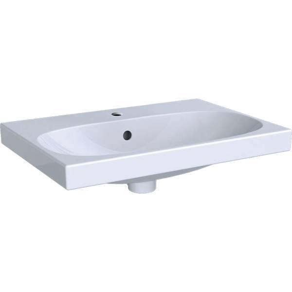 Acanto washbasin, small projection