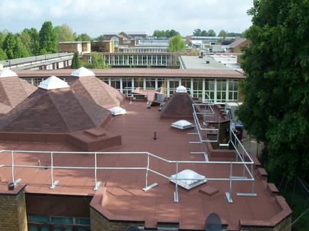 Old Students' Union Receives Fire Protected Roof