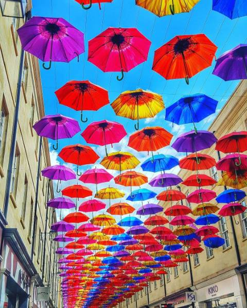 Umbrella Street, SouthGate Bath