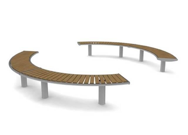 Horizon Bench - Curved