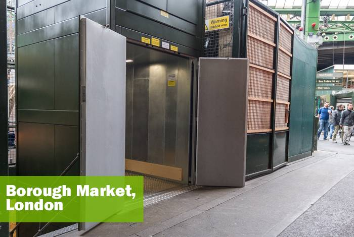 Goods Only Goodsmover Lift - Borough Market, London