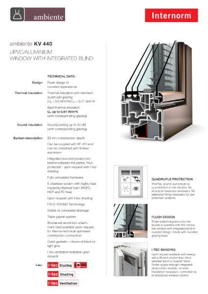 KV440 Ambiente Data Sheet