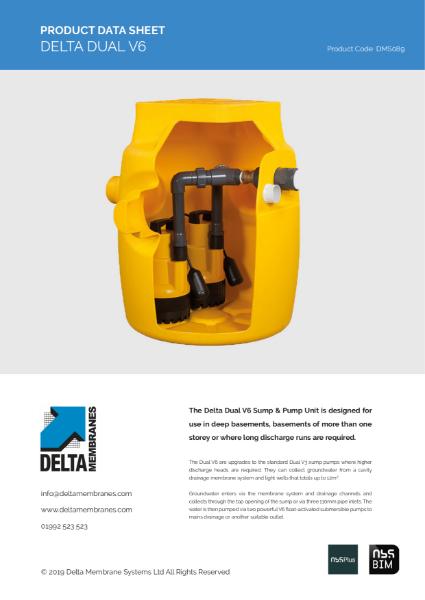 Delta Dual V6 Sump Pump