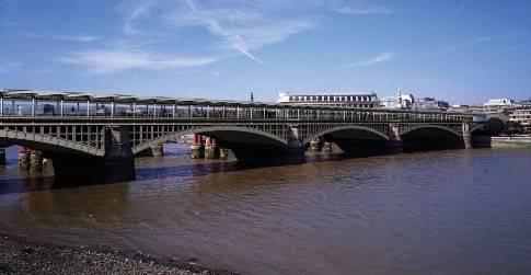 Blackfriars Railway Station - London