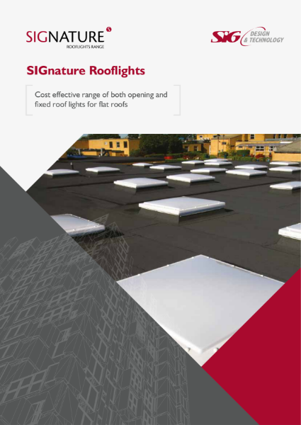SIGnature Rooflights Brochure