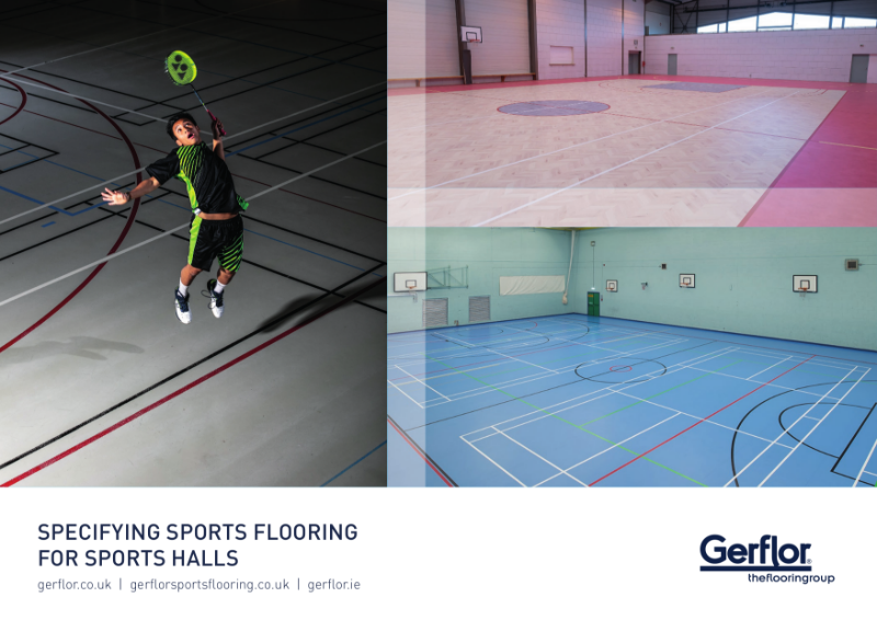 Specifying Sports Flooring for Sports Halls Brochure
