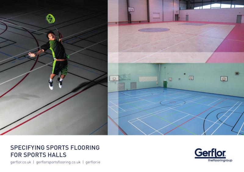 Specifying Sports Flooring for Sports Halls Brochure