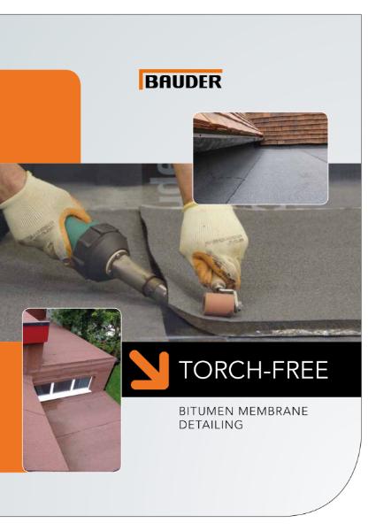 Torch-Free Detailing System - Bauder