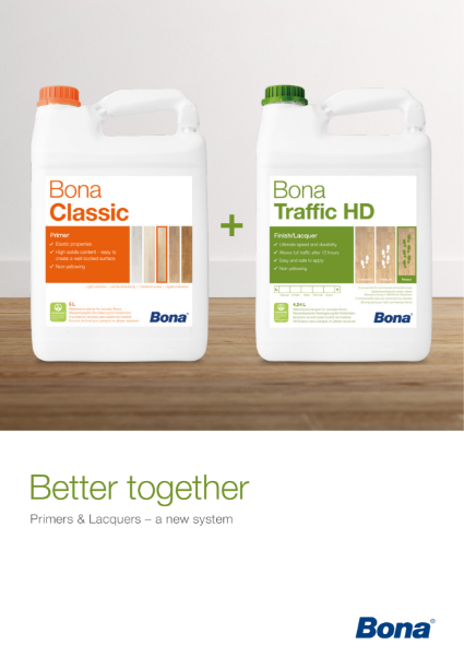 Bona Primers & Lacquers for Wood Floors
