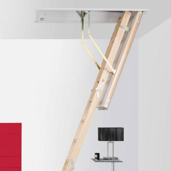The Quadro loft hatch and ladder features the latest innovations in loft ladder design and technology...