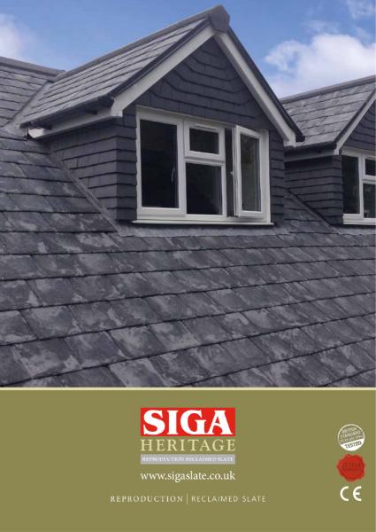 5. SIGA Heritage Reproduction Reclaimed Slate Brochure
