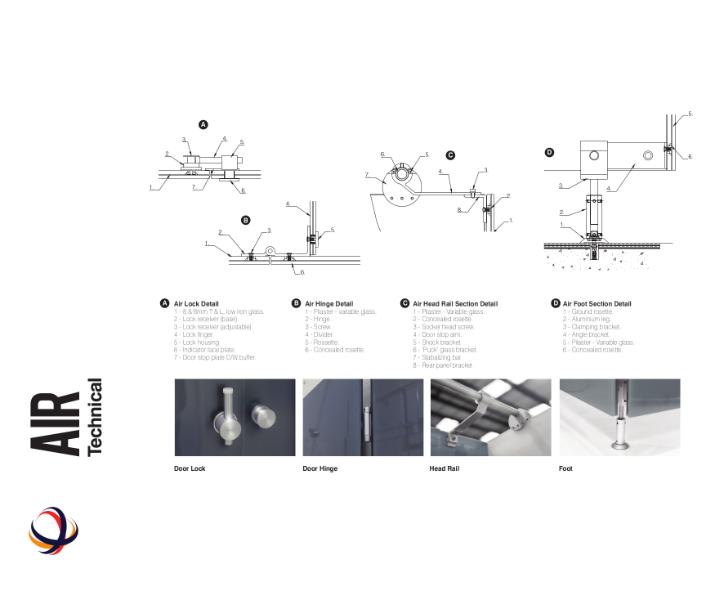 Air Cubicles Technical Details